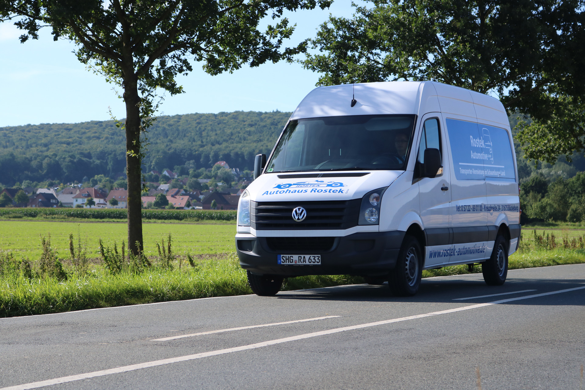 Rostek Automotive Crafter Vermietung